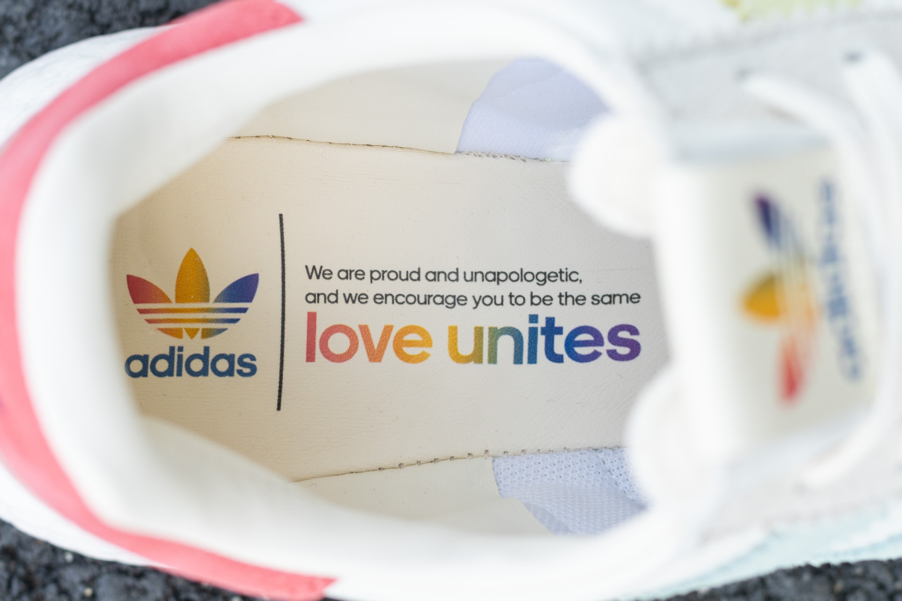Adidas I 5923 'Pride' B41984 (Front)   Pride shoes, Sneakers