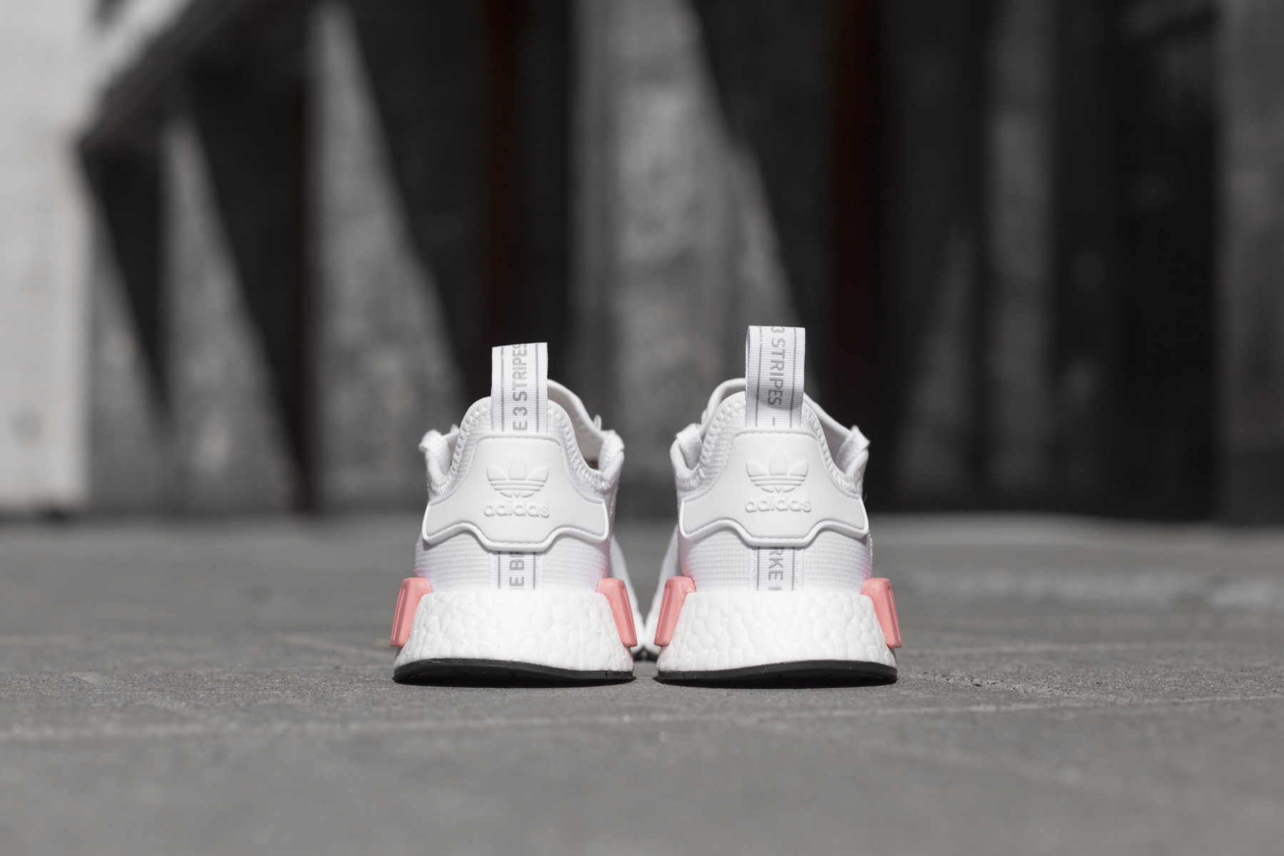 Adidas WMNS NMD R1 Footwear WhiteIcey Pink BY9952
