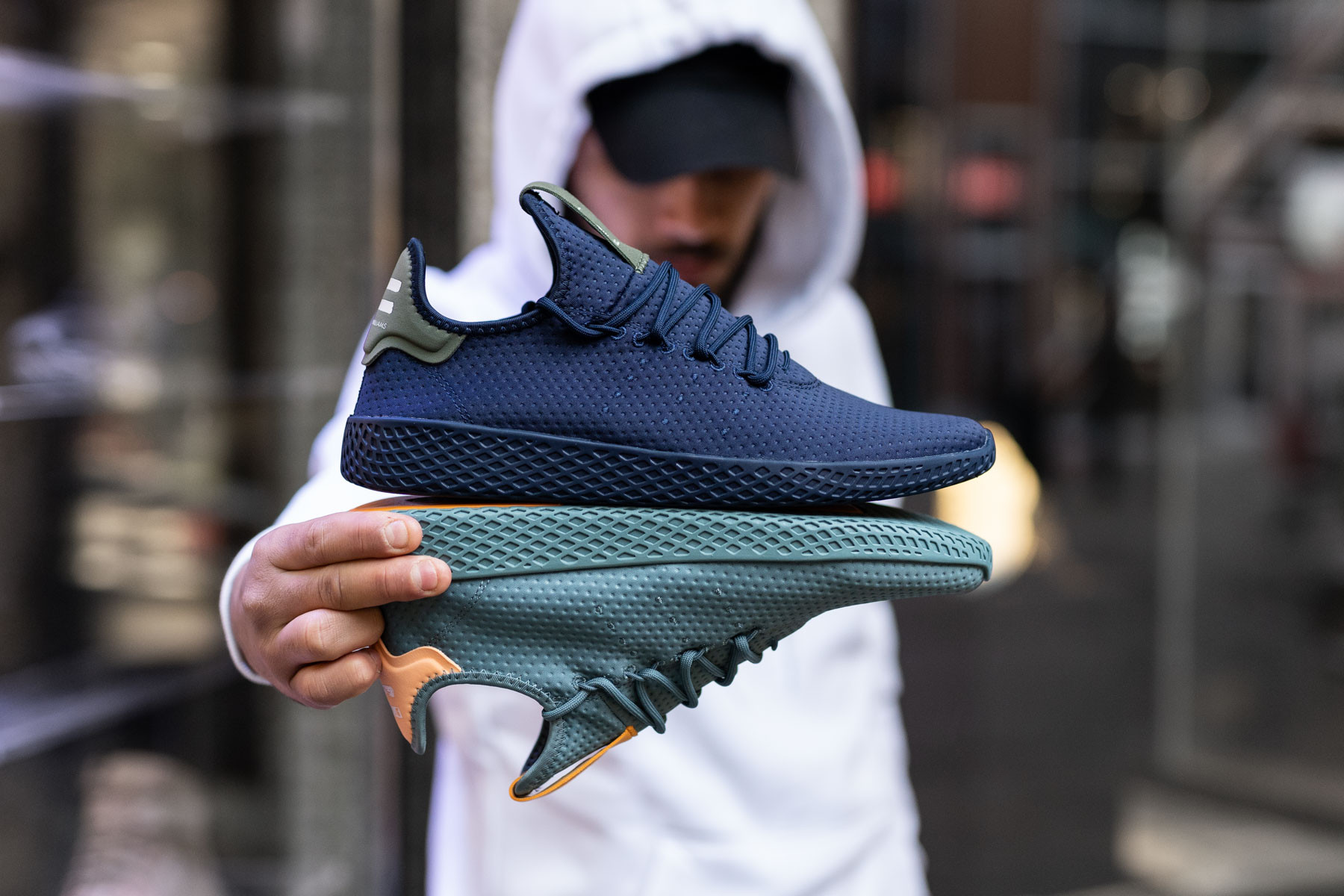 Adidas PW Tennis HU Sneakers Sneaker.no