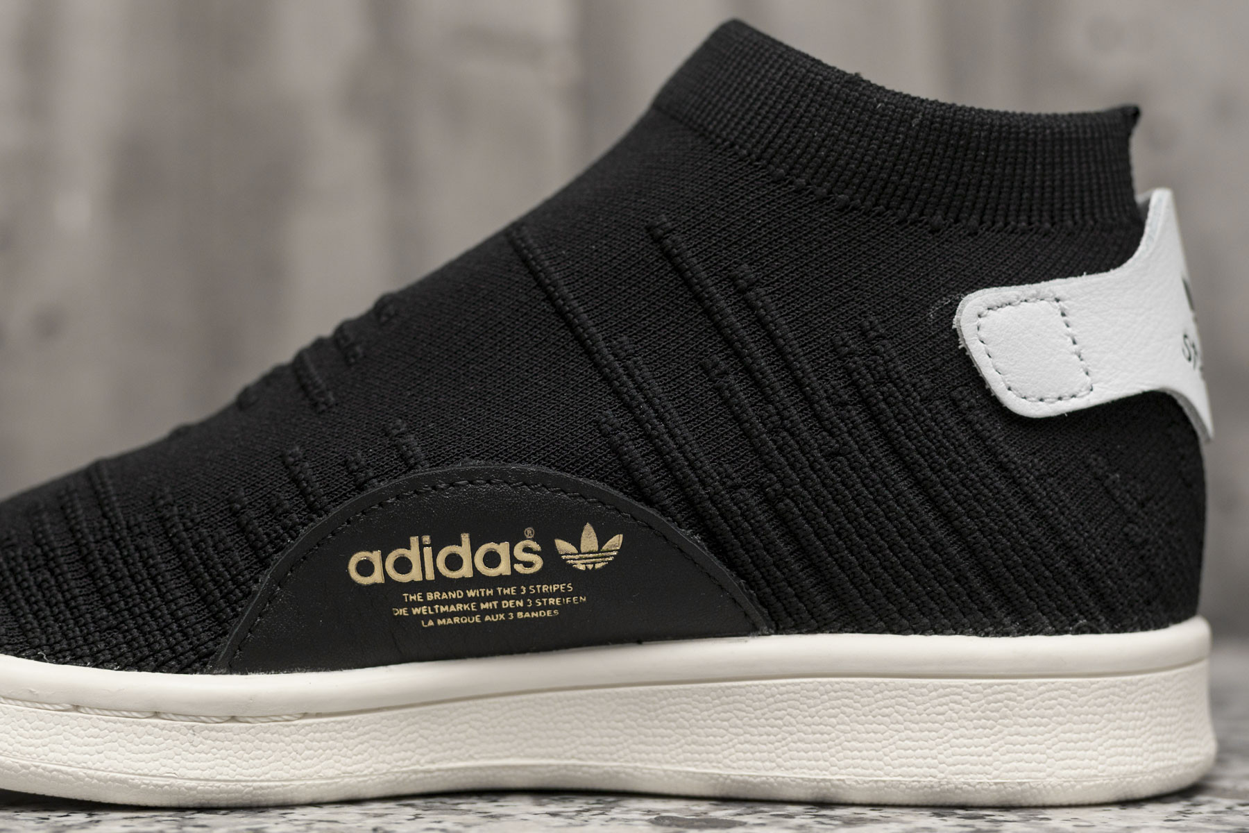 W Adidas Stan Smith Sock PK Sneaker.no