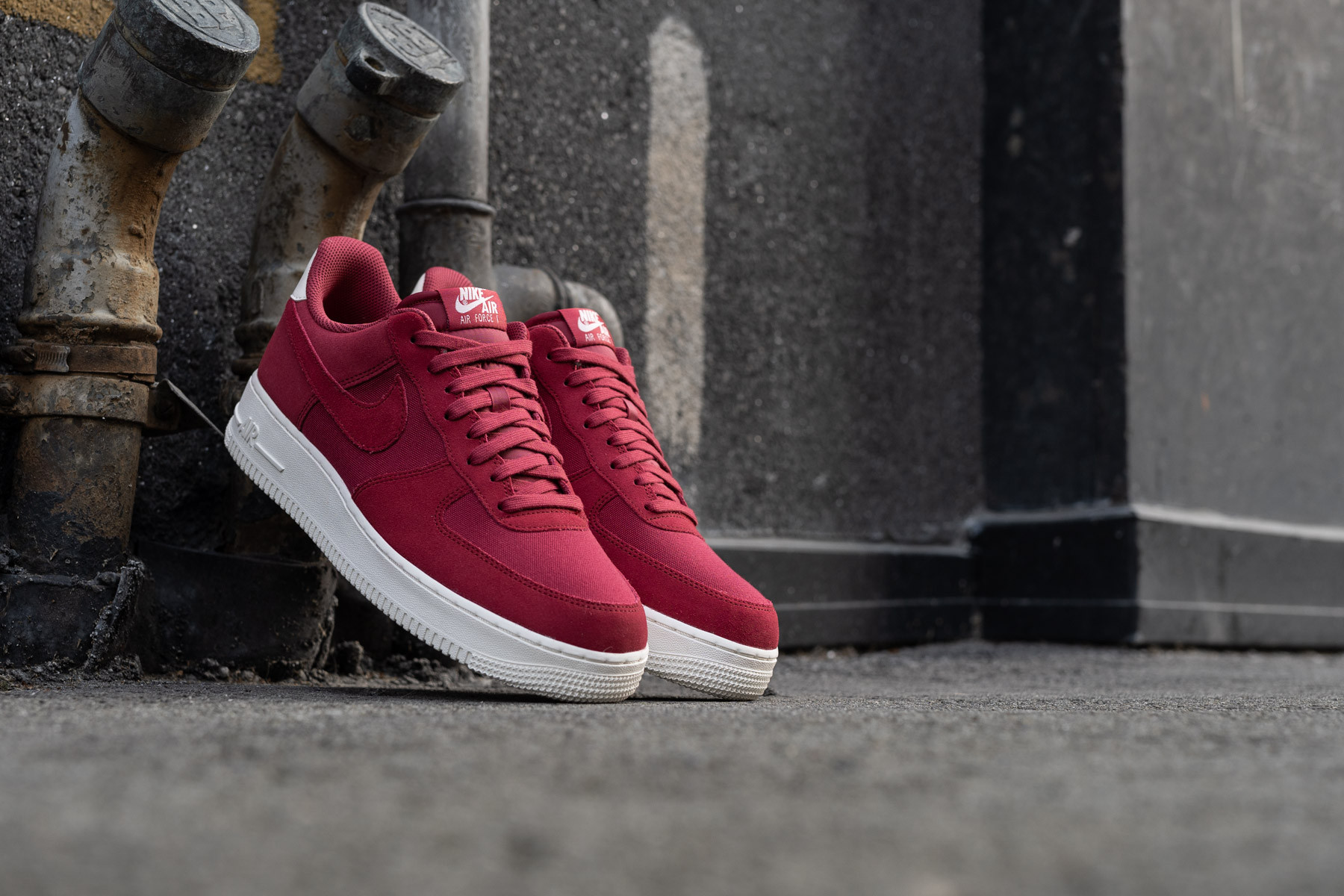 Details about Nike Air Force 1 Low Suede Red CrushRed Crush Sail AO3835 600 US Men Size 12.5