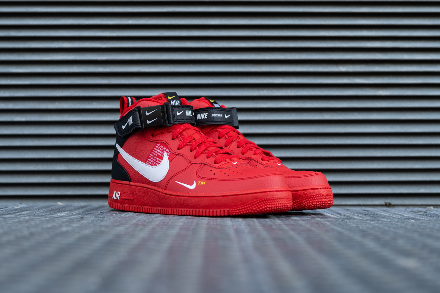 Nike Air Force 1 Mid 07 White Red