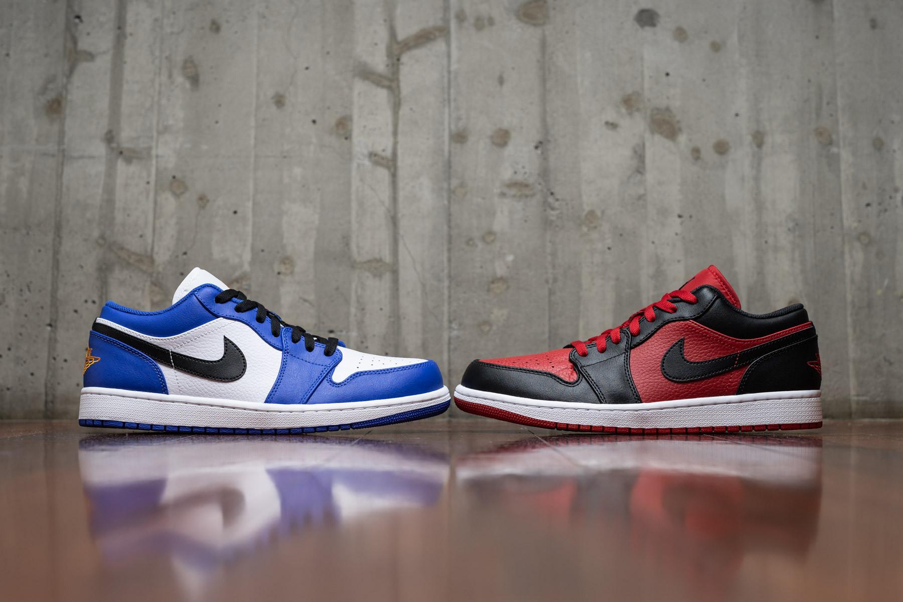 588571f9dacd18 Nike Air Jordan 1 Low - Low-top - Sneakers - Sneaker.no