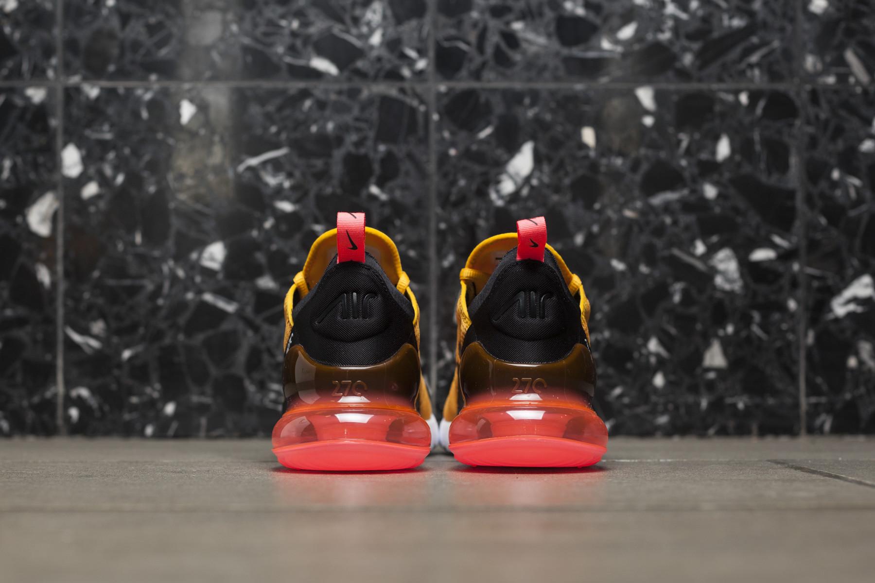 Nike Air Max 270 BlackBlack Hot Punch For Sale
