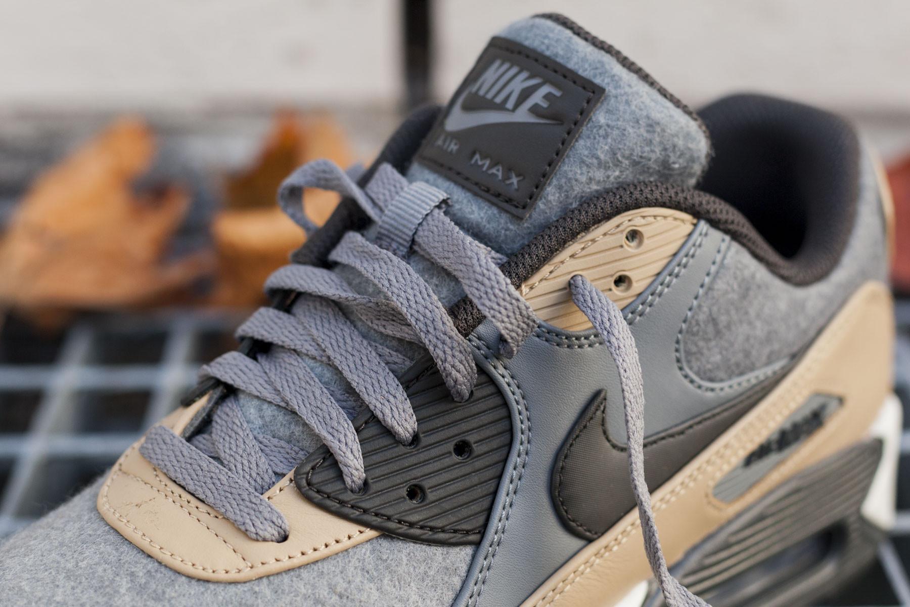 Nike Air Max 90 Premium Cool GreyMushroom 700155 010