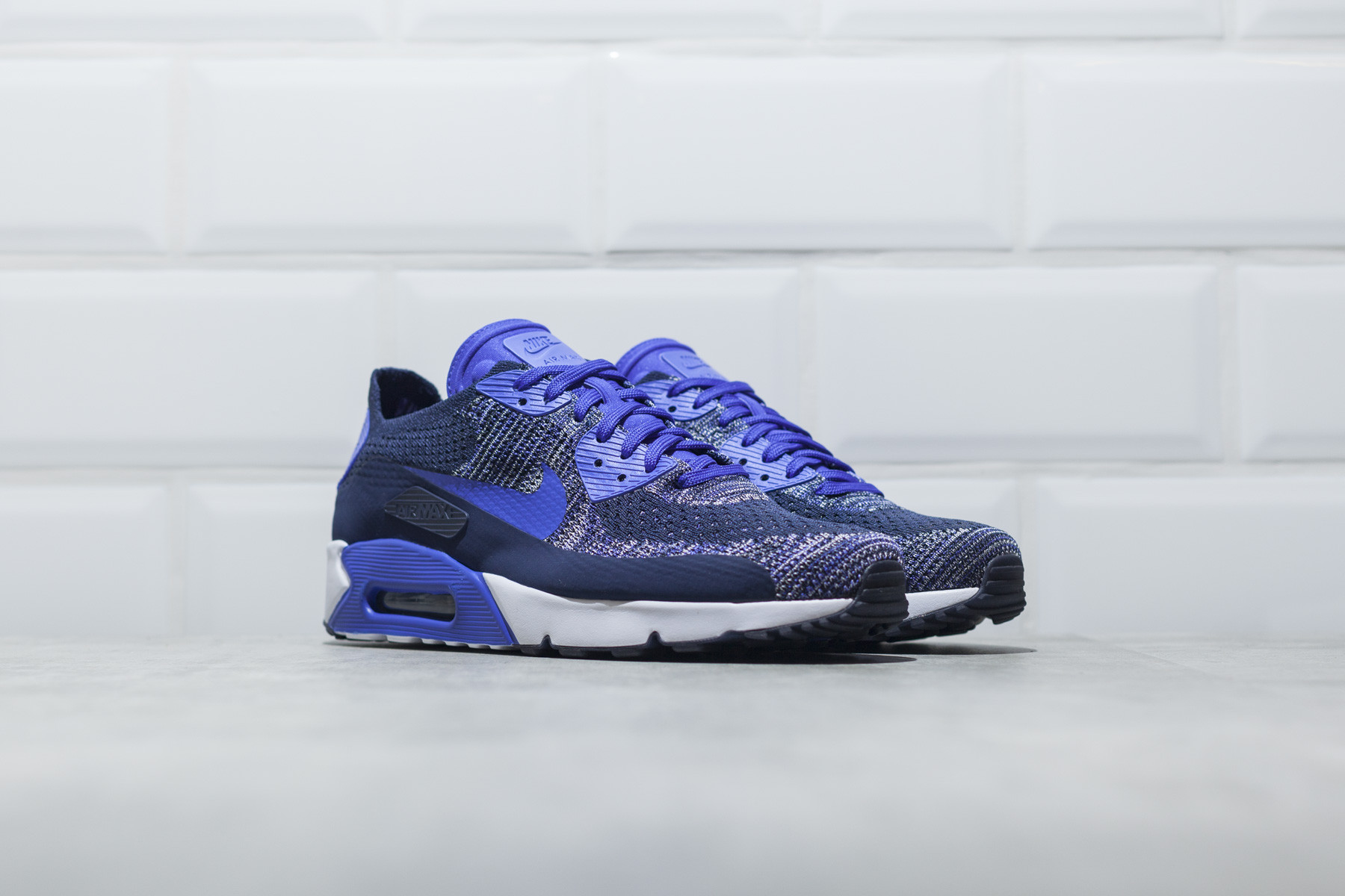 nike air max 90 ultra 2 0 flyknit herre sneakers. Black Bedroom Furniture Sets. Home Design Ideas