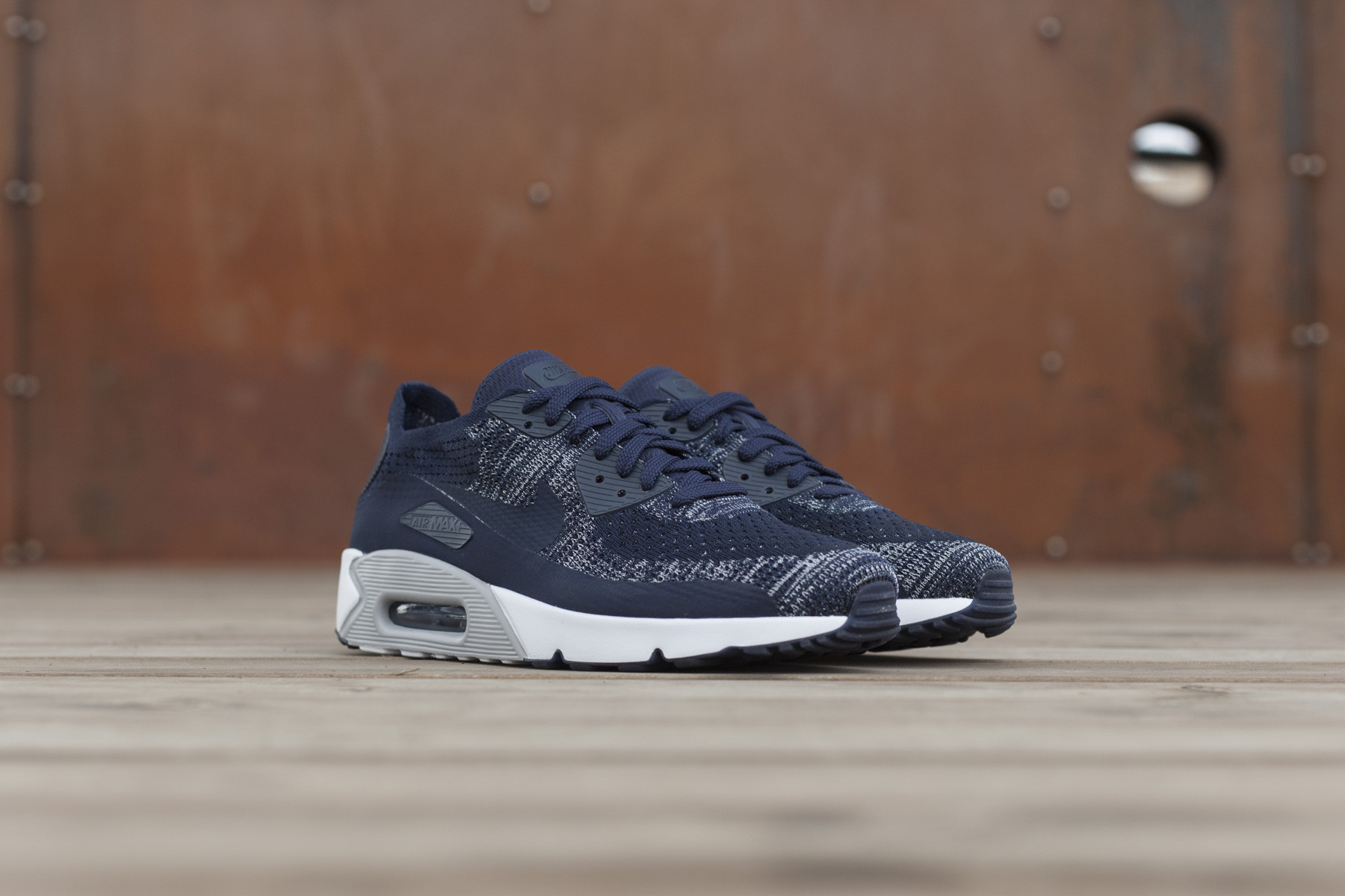 Nike Air Max 90 Ultra 2.0 Flyknit Herre Sneakers