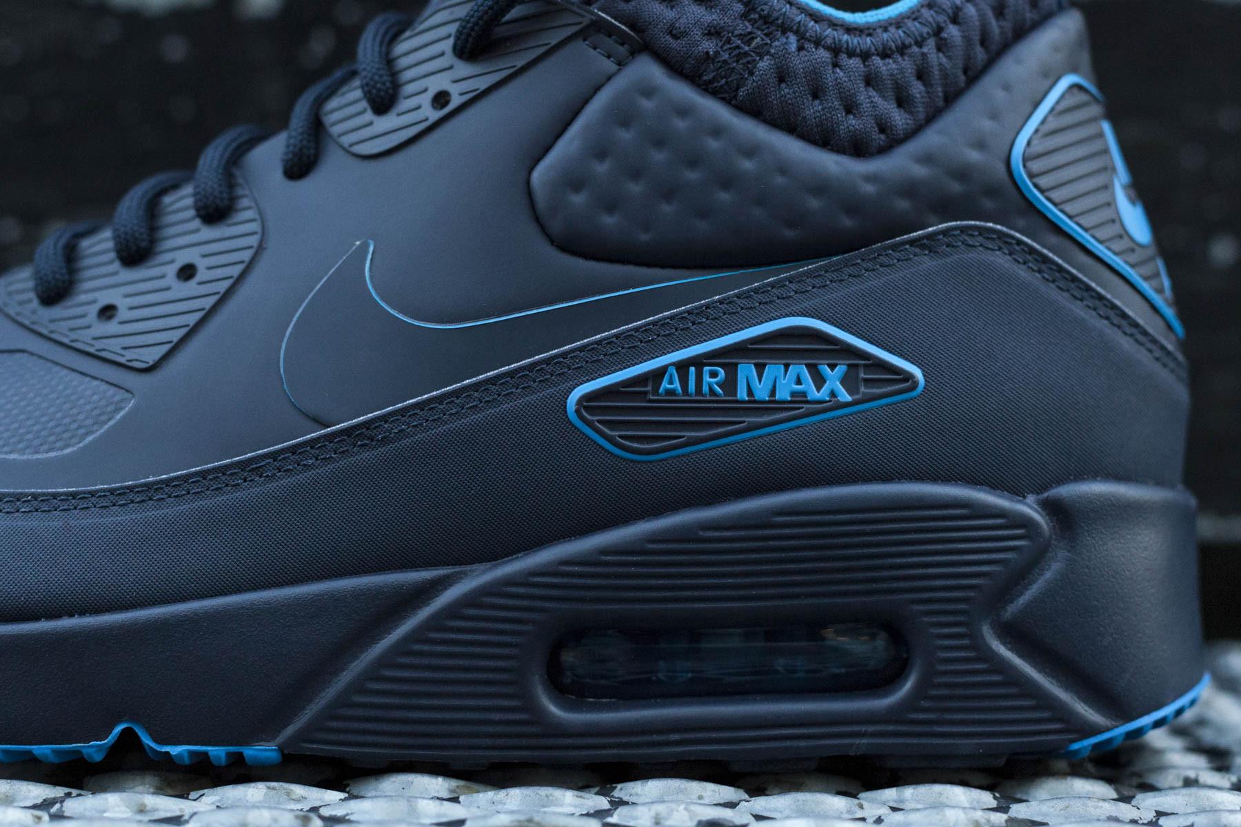 Nike Air Max 90 Ultra Moire | Blå | Sneakers | 819477 400