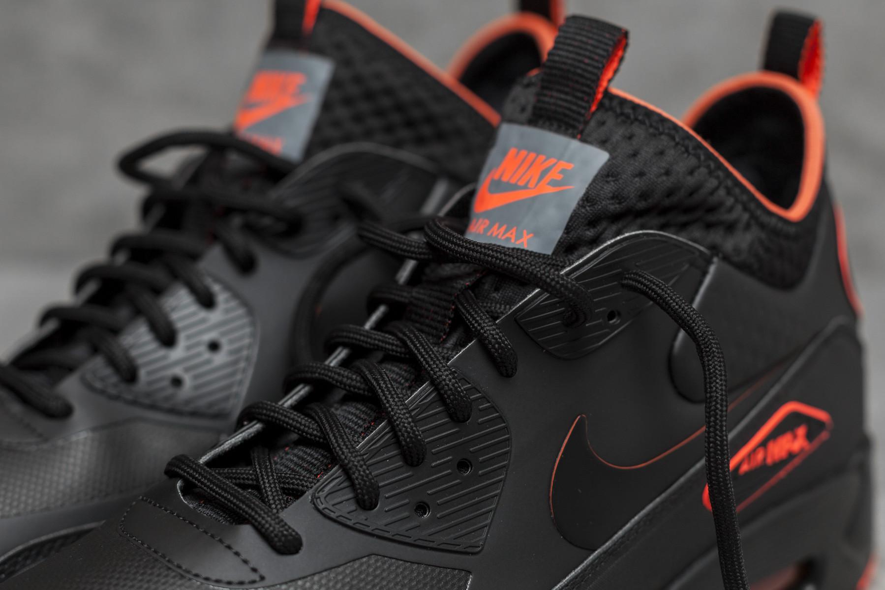 Nike Air Max 90 Ultra Mid Winter Black Total Crimson AA4423