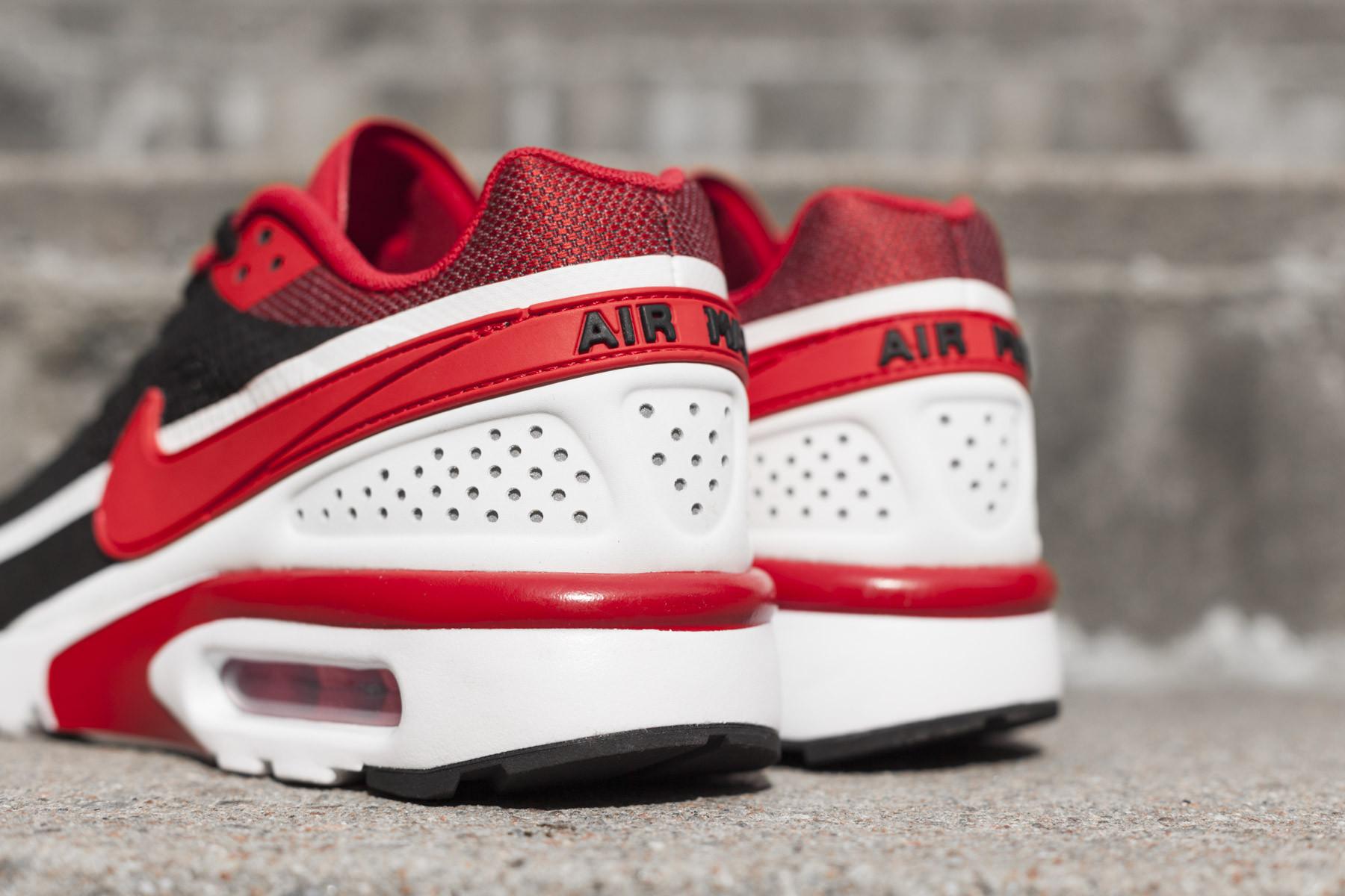 Nike Air Max BW Ultra SE Black Red White 844967 006