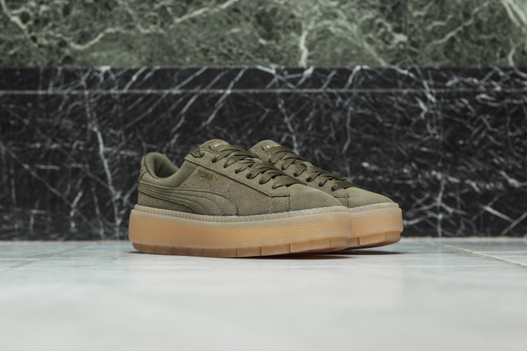 W Puma Platform Trace Sneakers Sneaker.no