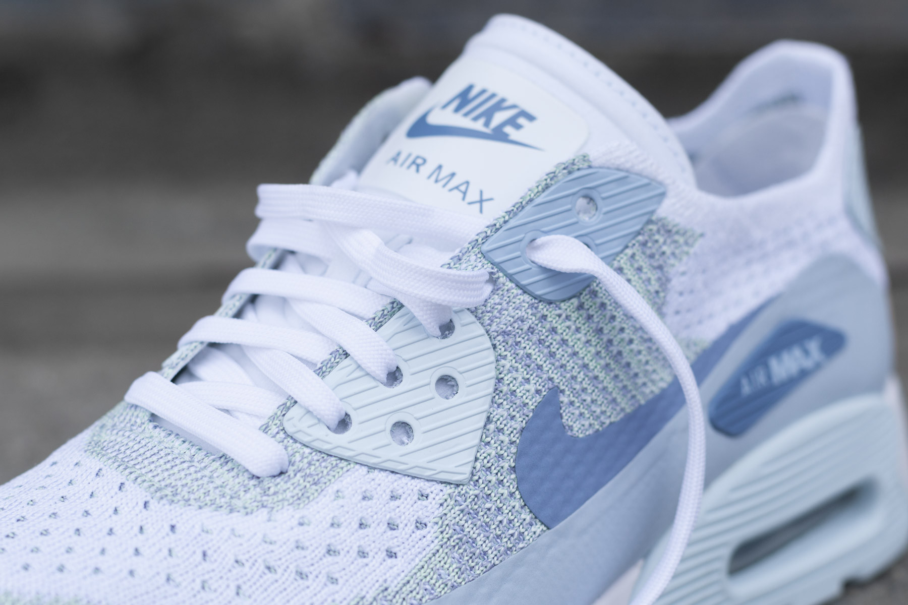 ab3800d15fbaf ... white glacier blue work blue light armory blue trainer uk d0592 d4de6   reduced wmns nike air max 90 ultra 2.0 flyknit sneakers sneaker.no fdf3d  a6c69