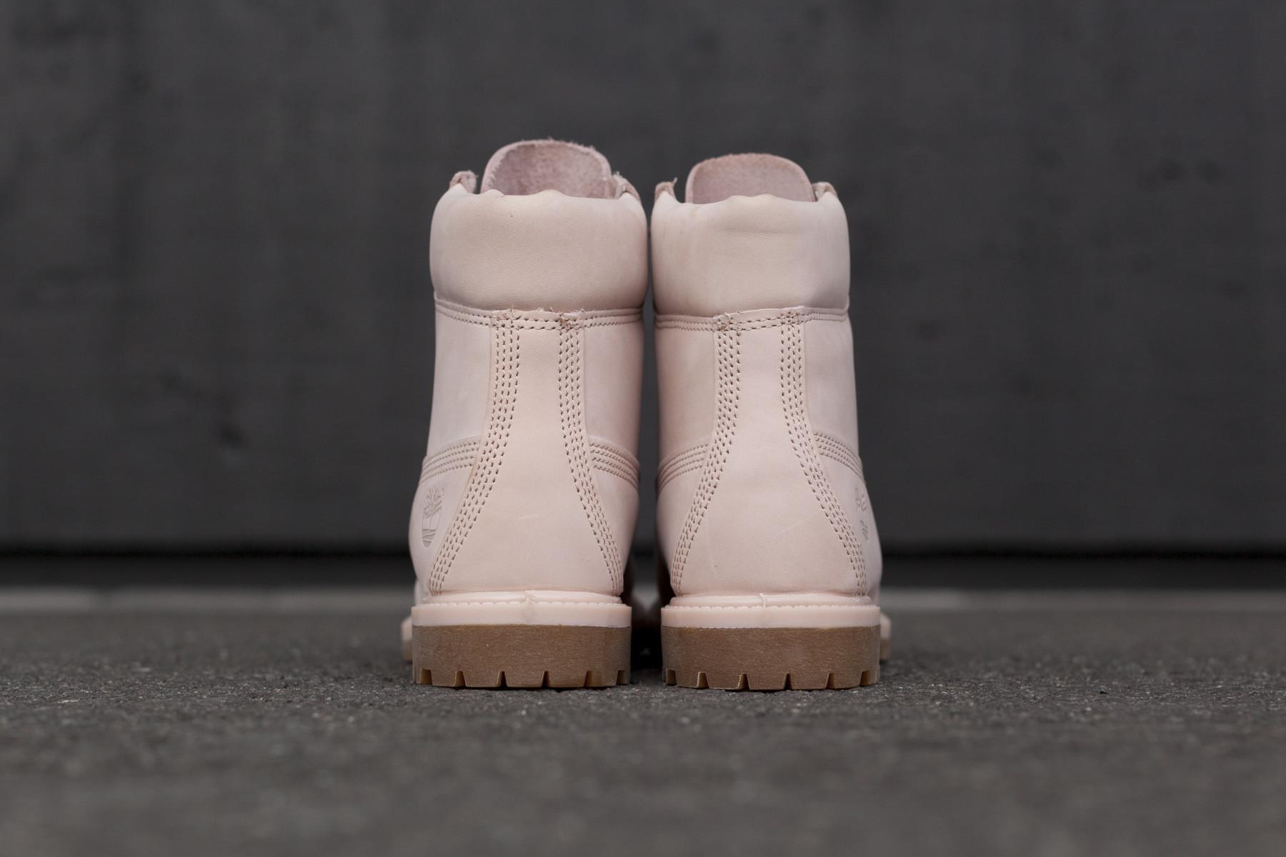 Timberland 6 Inch Premium Mono Light Pink Dame Boots