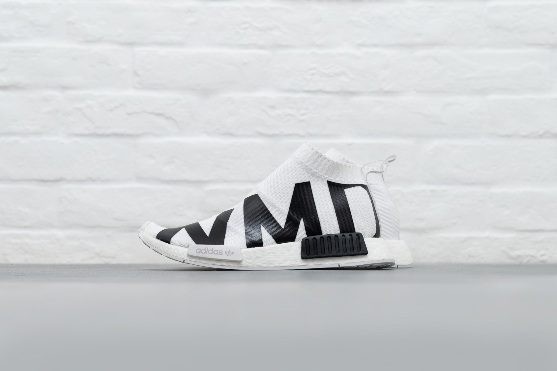 adidas NMD CS1 Primeknit White Black EG7538