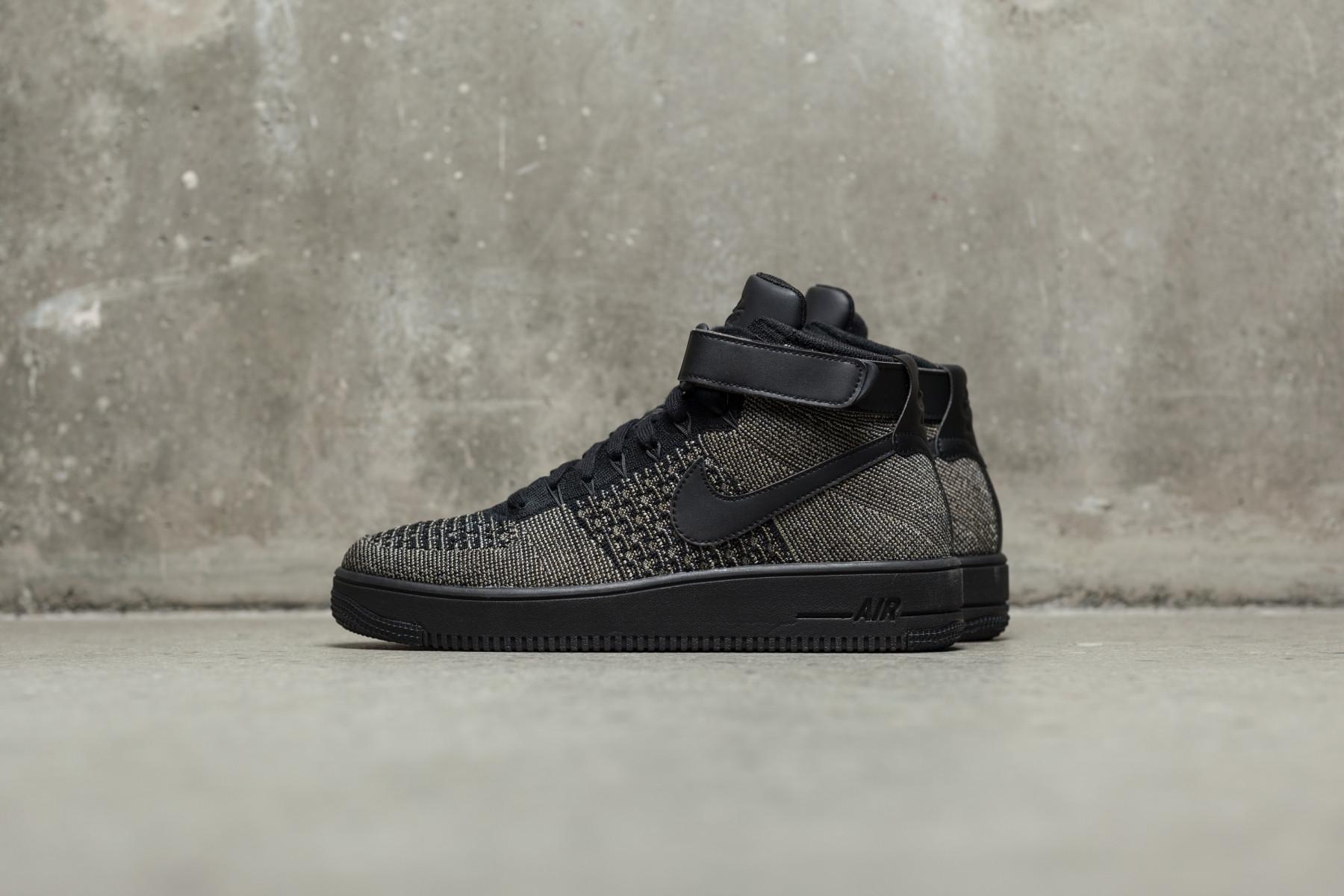 Nike AF1 Ultra Flyknit MID Herre Sneakers Sneaker.no