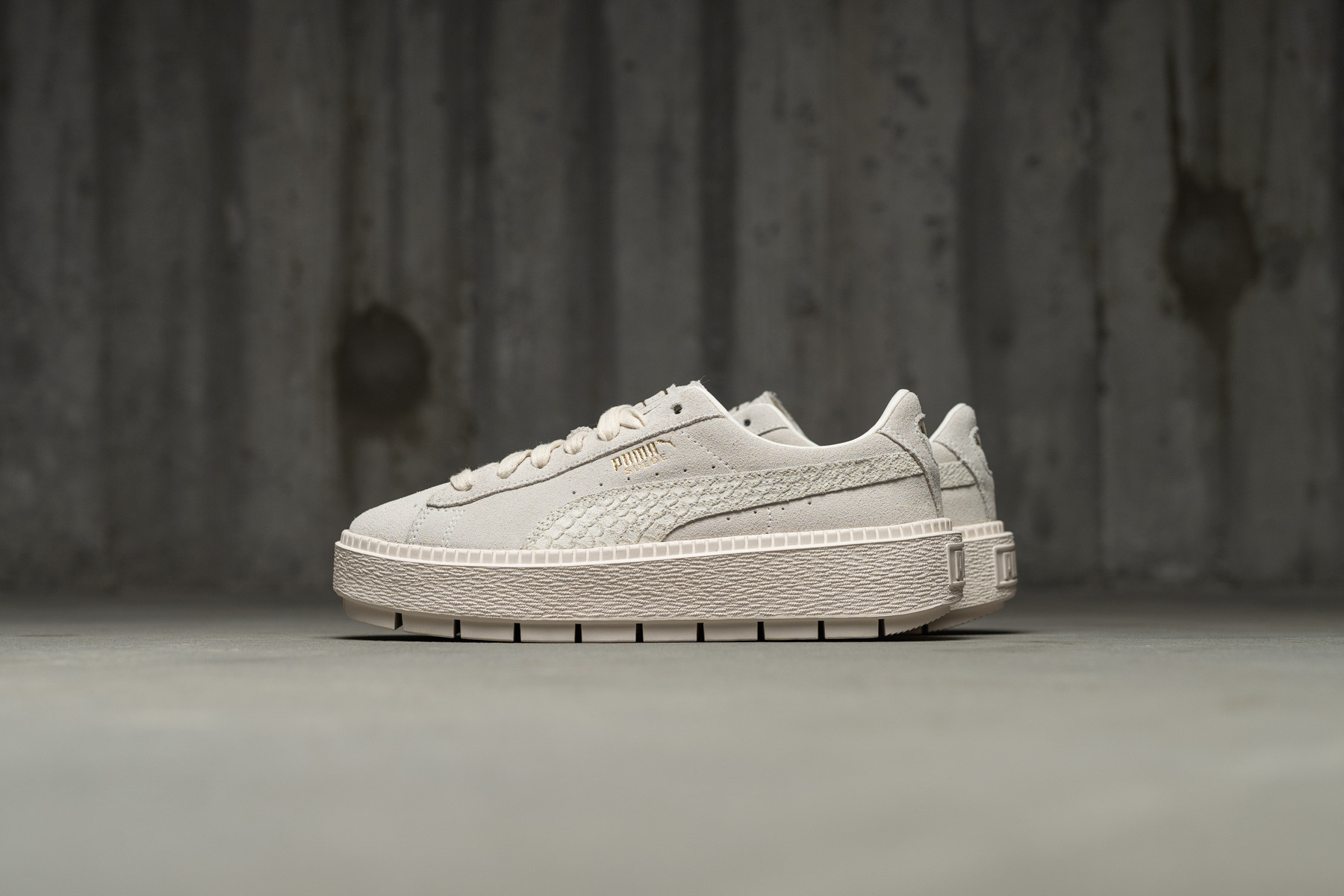 huge discount 0741d 5b514 W Puma Suede Platform Trace - Sneaker.no
