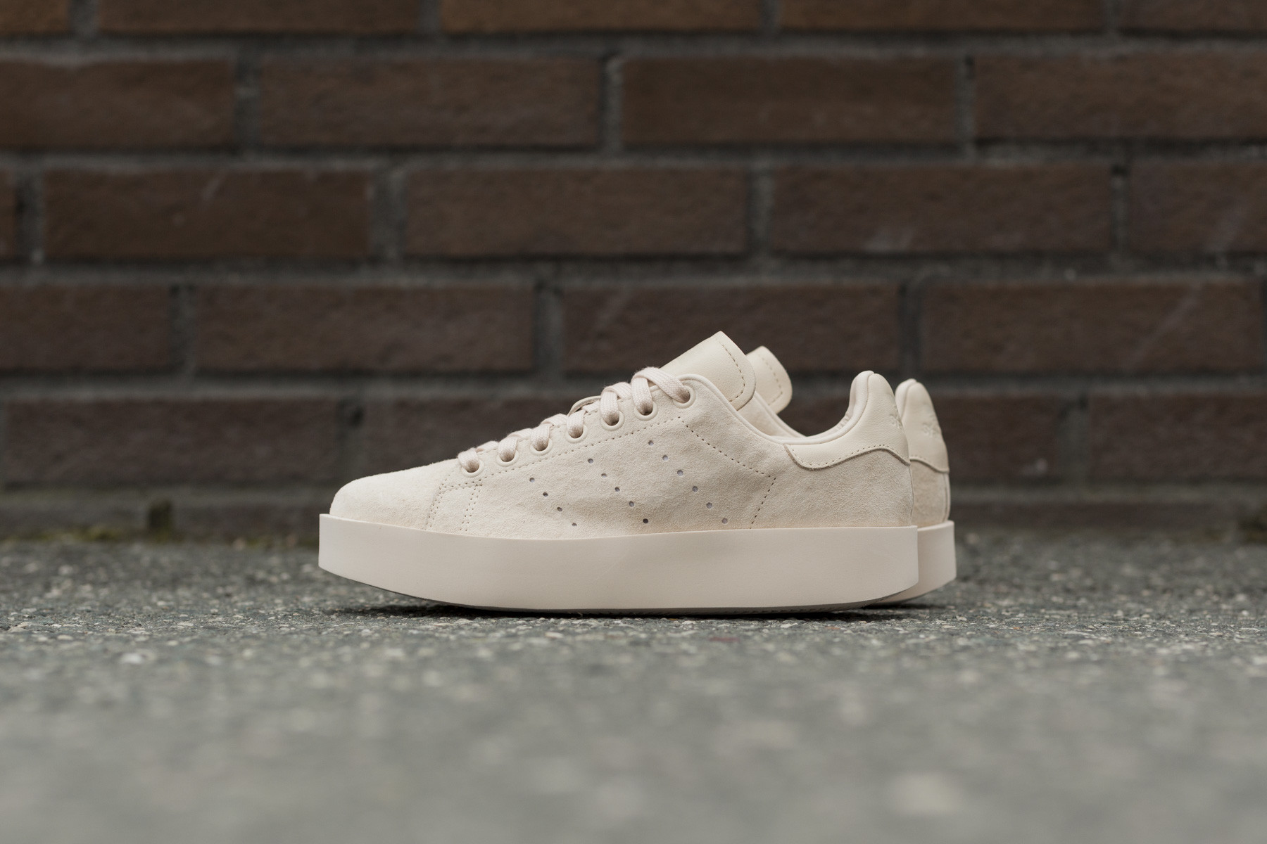 adidas stan smith bold linen