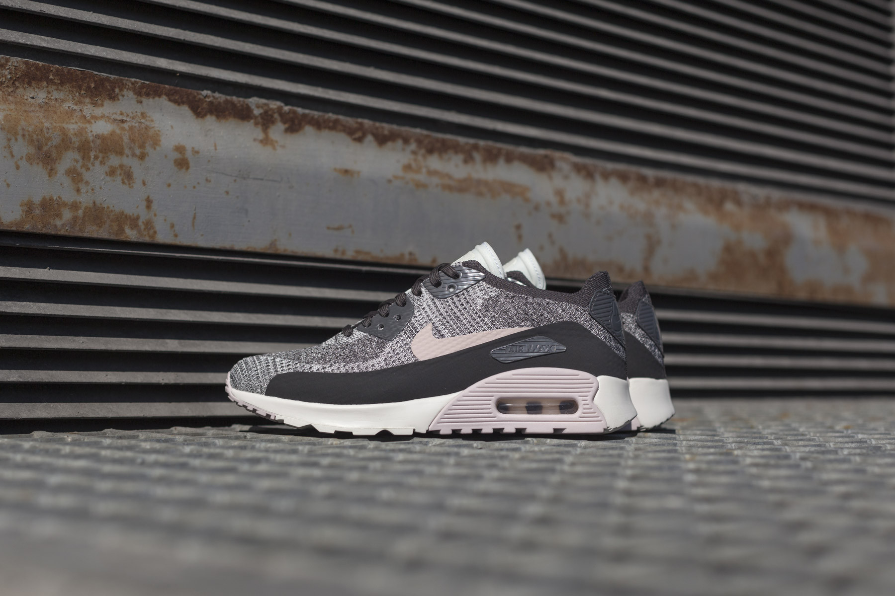 W Nike Air Max 90 Ultra 2.0 Flyknit Sneakers Sneaker.no